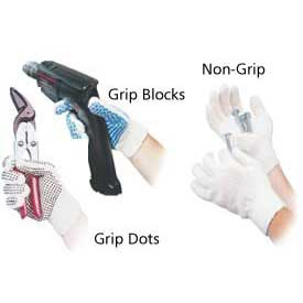 Grip And Non-Grip Protective String Gloves