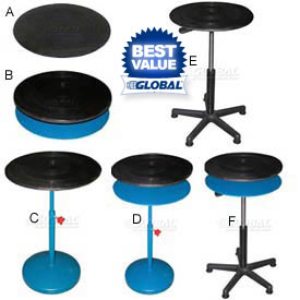 Vestil Manual Rotation Turntables