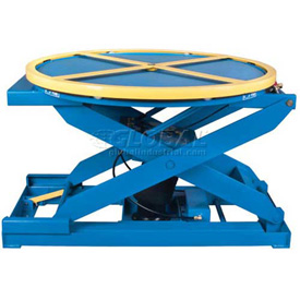 Bishamon® EZ Loader® Self-Leveling Air-Operated Pallet Carousel & Positioner