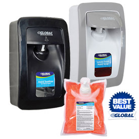 Global™ Hand Soap & Sanitizer Dispensers & Refills