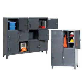 Strong Hold® All Welded Extra Heavy Duty Steel Lockers