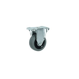 "Faultless Rigid Plate Caster 7793-5 5"" TPR Wheel"