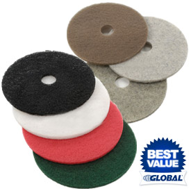 Global® Low & High Speed Floor Pads