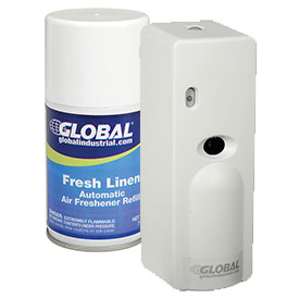 Deodorizers odor control systems at global industrial for Industrial bathroom air freshener