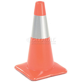 Traffic Cone Reflective With Custom Imprinting, 1850-00-M-L - Pkg Qty 50