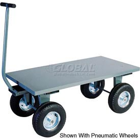 Jamco Steel Deck Wagon Truck TV248 48 x 24 2000 Lb. Capacity with Lip Deck