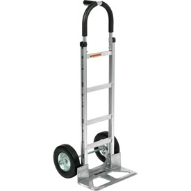 Global Aluminum Hand Truck - Pin Handle - Semi-Pneumatic Wheels