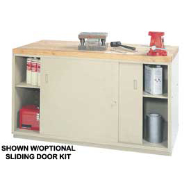 "Sliding Doors For Modular Workbenches - For 72"" Cabinet"
