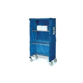 "48""W X 18""D X 63""H Blue Nylon Cover"