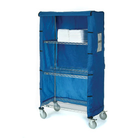 "72""W X 24""D X 63""H Blue Nylon Cover"