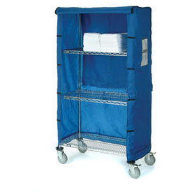 "72""W X 24""D X 74""H Blue Nylon Cover"