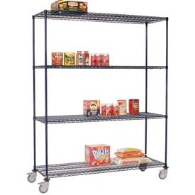 Nexelon™ Wire Shelf Truck 36x18x80 1200 Lb. Capacity