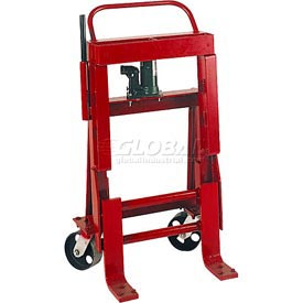 Wesco® Hydraulic Raise-N-Roll Machinery Dolly 260090 10,000 Lb. Cap. - Pair