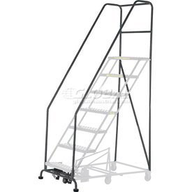 "42""H Cal-Osha Handrail/Base Kit- 10 To 12 Step"