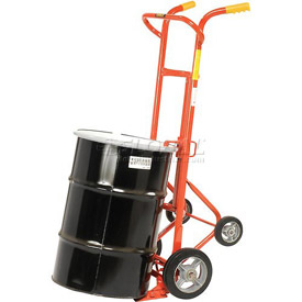 Wesco® Drum Truck 240001 with Four Wheels for 30 & 55 Gallon Steel Drums