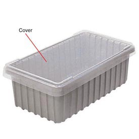 Dandux Snap-On Cover 50B1805LN for Modular Dividable Grid Box, 17-3/4x17-3/4, Clear