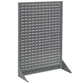 Single-Sided Floor Rack Without Bins  36 X 50