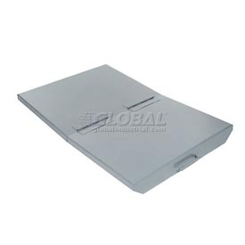 Lid for 2 Cu Yd Wright Gray Self Dumping Hopper