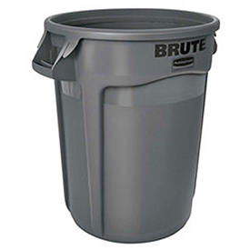 Rubbermaid Brute® 2620 Trash Container 20 Gallon - Gray