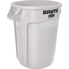 Rubbermaid Brute® 2610 Trash Container 10 Gallon - White