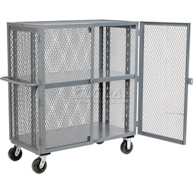 Jamco Security Clearview Truck VR348 with Adjustable Shelf 49 x 32 2500 Lb. Cap.