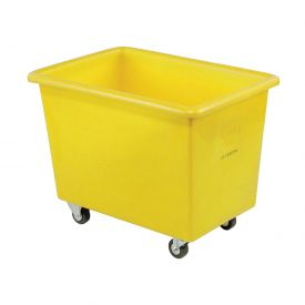 Dandux Yellow Plastic Box Truck 51126006Y-3S 6 Bushel Medium Duty