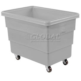Dandux Gray Plastic Box Truck 51126010A-3S 10 Bushel Medium Duty