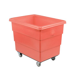 Dandux Red Plastic Box Truck 51-126018R-3S 18 Bushel Medium Duty