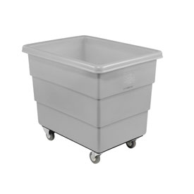 Dandux Gray Plastic Box Truck 51126020A-3S 20 Bushel Medium Duty