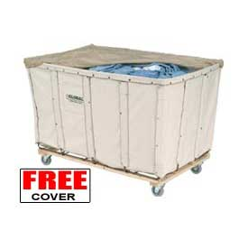 Best Value 20 Bushel Canvas Basket Bulk Truck