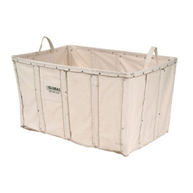 Replacement Liner for Best Value 20 Bushel Canvas Basket Bulk Truck