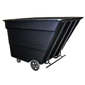 Bayhead Products Black Medium Duty 3 Cubic Yard Tilt Truck 2500 Lb. Capacity