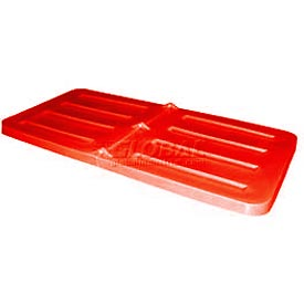 Red Lid for Bayhead Products 3.0 Cubic Yard Tilt Truck