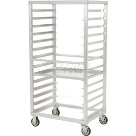 New Age 97212 Aluminum Tray Truck 24 x 33 x 66 with 14 Tray Capacity