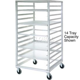 New Age 97211 Aluminum Tray Truck 24 x 33 x 66 with 28 Tray Capacity
