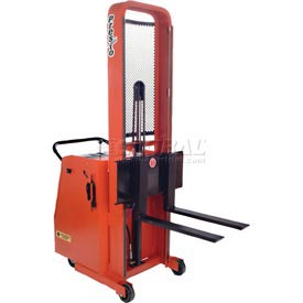 "PrestoLifts™ Battery Powered Lift Counter Balance Stacker C74A-600 74""H"