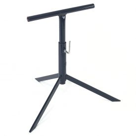 "Omni Metalcraft Adjustable Conveyor Tripod 12""W with 17"" to 29""H Range TSTD9.75-17-29 TOL"