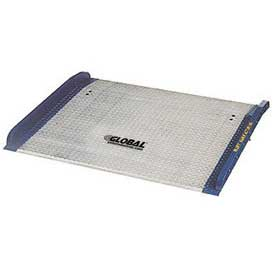 Bluff® BC7260 Aluminum Dock Board with Steel Curbs 72 x 60 15,000 Lb. Cap.