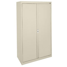 Sandusky System Series Storage Cabinet HA3F361864 Double Door - 36x18x64, Putty