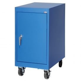 Sandusky Mobile Work Height Storage Cabinet TA11182430 Single Door - 18x24x36, Blue