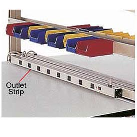 "60""W 8 Outlet Power Strip"