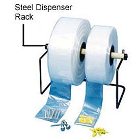 "Steel Dispenser Rack For 24""W Poly Tubing"