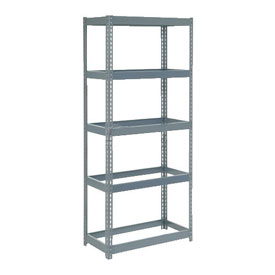 "Extra Heavy Duty Shelving 36""W x 12""D x 60""H With 5 Shelves, No Deck"