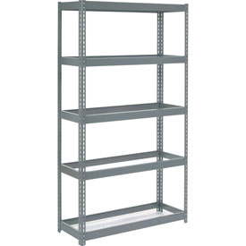 "Extra Heavy Duty Shelving 48""W x 12""D x 60""H With 5 Shelves, No Deck"