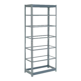 "Heavy Duty Shelving 36""W x 24""D x 84""H With 7 Shelves, No Deck"