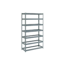 "Extra Heavy Duty Shelving 48""W x 12""D x 84""H With 7 Shelves, No Deck"