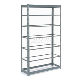 "Heavy Duty Shelving 48""W x 18""D x 96""H With 7 Shelves, No Deck"