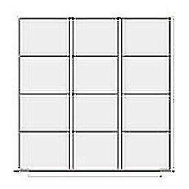 Lyon Modular Drawer Unit Divider Kit NF240L100X  - 12 Compartment