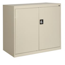 Sandusky Elite Series Counter Height Storage Cabinet EA2R462442 - 46x24x42, Putty