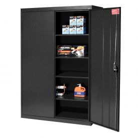 Sandusky Elite Series Storage Cabinet EA4R462472 - 46x24x72, Black